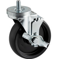 6 inch Swivel Stem Caster with Brake for Beverage-Air Equipment