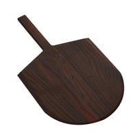 American Metalcraft AW2414 15 inch x 14 inch Ash Wood Serving Peel