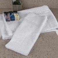 Oxford Bronze 16 inch x 27 inch 100% Open End Cotton Hand Towel with Cam Border 2.75 lb. - 240/Case