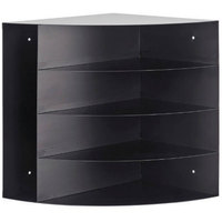 MMF Industries 264C10004 Black 4-Way Corner Organizer