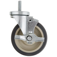 5 inch Swivel Stem Caster with Brake for Beverage-Air