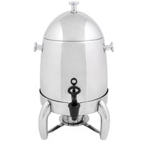 Choice Heavy Weight Stainless Steel 48 Cup Coffee Chafer Urn - 3 Gallon