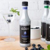 Monin 375 mL Blueberry Concentrated Flavor