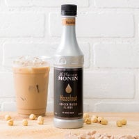 Monin 375 mL Hazelnut Concentrated Flavor
