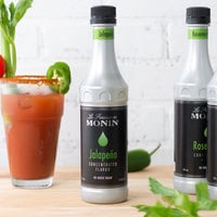 Monin 375 mL Jalapeno Concentrated Flavor