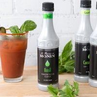 Monin 375 mL Basil Concentrated Flavor