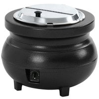 Vollrath 72165 11 Qt. Soup Warmer Kettle Black - 120V, 700W