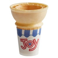 JOY #30 Flat Bottom Jacketed Cake Cone - 750/Case