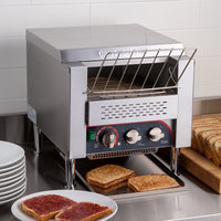 Avatoast T3300B Commercial 10 inch Wide Conveyor Toaster with 3 inch Opening - 208V, 3300W, 800 Slices per Hour