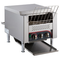 Avatoast T3300D Commercial 10 inch Wide Conveyor Toaster with 3 inch Opening - 240V, 3300W, 800 Slices per Hour