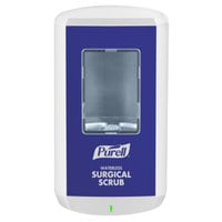 Purell® 7810-01 CS8 1200 mL White / Blue Automatic Waterless Surgical Scrub Hand Sanitizer Dispenser