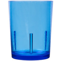 Cambro D14608 Del Mar 14 oz. Sapphire Blue Customizable SAN Plastic Tumbler - 36/Case