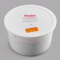 David's Cookies 8 lb. Gourmet Peanut Butter Edible Cookie Dough with Reese's® Mini Pieces - 2/Case