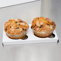 Reversible Cupcake / Muffin Insert - Holds 2 Muffins or Jumbo Cupcakes - 10/Pack