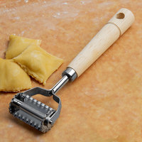 1 5/8 inch Square Ravioli Cutter with Wavy Edge