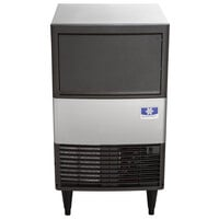Manitowoc UDE0065A NEO 19 11/16 inch Air Cooled Undercounter Dice Cube Ice Machine with 31 lb. Bin - 115V, 57 lb.