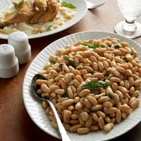 Furmano's #10 Can White Kidney Beans (Cannellini Beans) - 6/Case