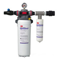 3M Water Filtration Products SF165 Steamer Water Filtration System - 3.0 Micron Rating and 3.34 GPM