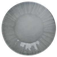 Schonwald 9361871-15701 Character 8 1/2 inch Graphite Round Glass Plate - 6/Case