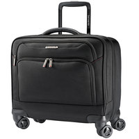 Samsonite 894381041 Xenon 13 1/4 inch x 7 1/4 inch x 16 1/4 inch Black Ballistic Polyester 3 Spinner Mobile Office Bag
