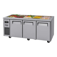 Turbo Air JBT-72-N 71 inch Stainless Steel Refrigerated Buffet Display Table