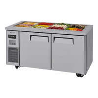 Turbo Air JBT-60-N 59 inch Stainless Steel Refrigerated Buffet Display Table