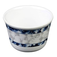 Thunder Group 9152DL Blue Dragon 5 oz. Melamine Tea Cup - 12/Case