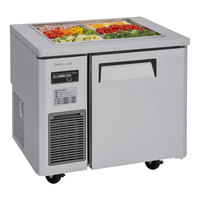 Turbo Air JBT-36-N 35 inch Stainless Steel Refrigerated Buffet Display Table