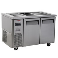 Turbo Air JBT-48-N 47 inch Stainless Steel Refrigerated Buffet Display Table