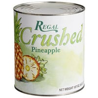 Regal #10 Can Crushed Pineapple - 6/Case