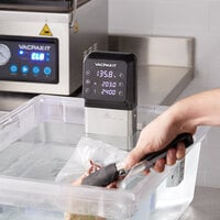VacPak-It SV08 Commercial Sous Vide Immersion Circulator Head with LCD Display - 120V, 1200W