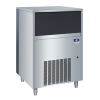 Manitowoc UFF-0350A 29 inch Air Cooled Undercounter Flake Ice Machine with 50 lb. Bin - 115V, 350 lb.