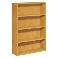 HON 105534CC 10500 Series Harvest 4-Shelf Bookcase - 36 inch x 13 1/8 inch x 57 1/8 inch