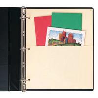 Avery 03075 Untabbed Manila Double Pocket Divider Set - 5/Set