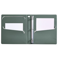 Avery 79744 Ultralast White View Binder with 1 inch Non-Locking One Touch Slant Rings