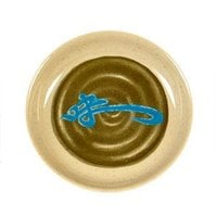 Thunder Group 102.8J Wei 2 oz. Round Melamine Sauce Dish - 60/Case