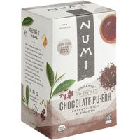 Numi Organic Chocolate Pu-Erh Tea Bags - 16/Box