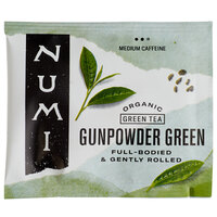 Numi Organic Gunpowder Green Tea Bags - 100/Case