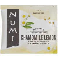 Numi Organic Chamomile Lemon Herbal Tea Bags - 100/Case