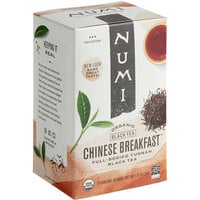Numi Organic Chinese Breakfast Tea Bags - 18/Box
