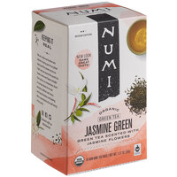 Numi Organic Jasmine Green Tea Bags - 18/Box
