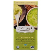 Numi 1.06 oz. (30 g) Organic Citrus Matcha Loose Powdered Tea