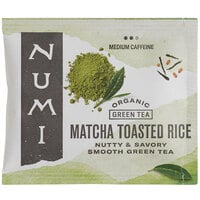 Numi Organic Matcha Toasted Rice Tea Bags - 100/Case