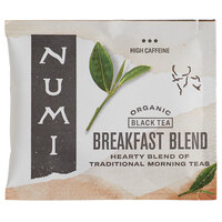 Numi Organic Breakfast Blend Tea Bags - 100/Case
