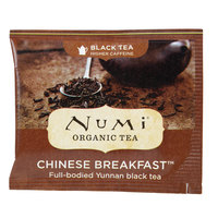 Numi Organic Chinese Breakfast Tea Bags - 100/Case