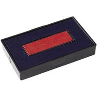 Cosco 061797 2000 PLUS Economy Message Dater Red / Blue Felt Replacement Ink Pad