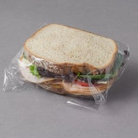 LK Packaging 15 inch x 15 inch BOPP Clear Deli Sandwich Wrap - 1000/Case