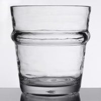 Libbey 92430 Infinium Wake 12 oz. Tritan Plastic Stackable Double Rocks / Old Fashioned Glass   - 12/Case