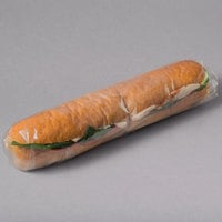 LK Packaging 16 inch x 16 inch BOPP Clear Deli Sandwich Wrap - 1000/Case