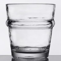 Libbey 92428 Infinium Wake 7 oz. Tritan Plastic Stackable Rocks / Old Fashioned Glass   - 12/Case